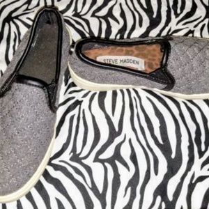 🔥 GUC Girl's Steve Madden Slip On Shoes (A73)